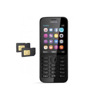 گوشی موبایل نوکیا مدل NOKIA 222 1 رادک