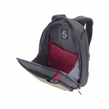 کوله پشتی لپ تاپ کرامپلر مدل (خاکی/طوسی) - Dry Red NO.5 با کد DR5002-G14150 15 رادک