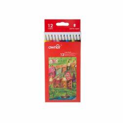 مداد رنگی 12 رنگ اونر کد 141612