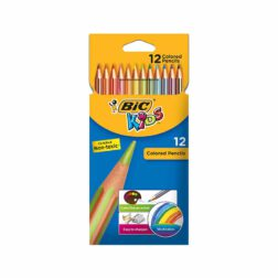 مداد رنگی بیک کیدز تروپیکالر 12 رنگ