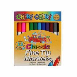 ماژیک نقاشی ۱۲ رنگ Chiki Chiki