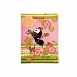 دفتر نقاشی طرح دار اکلیلی ۵۰ برگ ۱۱۷۰۵P مورچه دونده رنگ صورتی