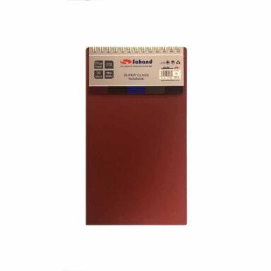 دفتر خبرنگاری کد ۱۱۷۷۸S رنگ زرشکی 1 رادک