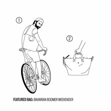 ساک دستی و مسافرتی کرامپلر مدل Crumpler BAVARIAN BOOMER WEEKENDER قهوه ای تیره 13 رادک
