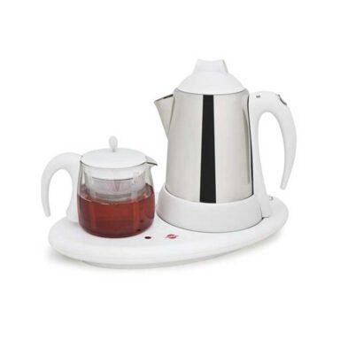 چای ساز و دم آور پارس خزر مدل ۳۵۰۰SP (با قوری چینی) 1 رادک