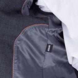 کت تک پشمی مردانه برک رنگ نوک مدادی مدل 3_516_fld_brk
