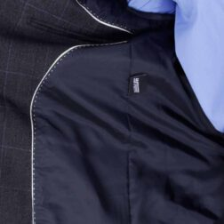 کت تک پشمی مردانه برک رنگ ذغالی مدل fld_brk_516_2