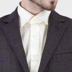 کت تک پشمی مردانه برک رنگ قهوه ای مدل fld_brk_516_4