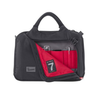 کیف لپ تاپ کرامپلر مدل Crumpler DRY RED NO 7 - کد DRB002-B00150 مشکی 8 رادک