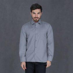 پیراهن آستین بلند تترون مردانه هجرت 13 رادک