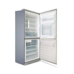 یخچال فریزر پایین الکترواستیل مدل ES35T با یخساز اتوماتیک-تیتانیوم