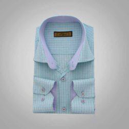 پیراهن آستین بلند تترون مردانه هجرت