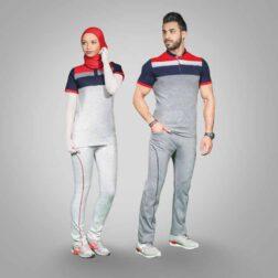 ست تی شرت و شلوار پنبه ای مردانه رویین تن پوش مدل فریمان