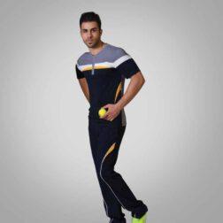 ست تی شرت شلوار پنبه ای مردانه رویین تن پوش مدل آرتا