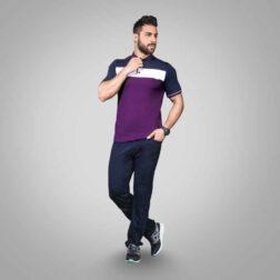 ست تی شرت شلوار پنبه ای مردانه رویین تن پوش مدل فرين