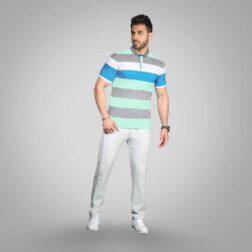 ست تی شرت شلوار پنبه ای مردانه رویین تن پوش مدل هورمند