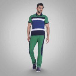 ست تی شرت و شلوار پنبه ای مردانه رویین تن پوش مدل رابين