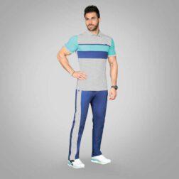 ست تی شرت شلوار پنبه ای مردانه رویین تن پوش مدل برسام