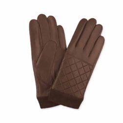 دستکش چرم مردانه مارال چرم مدل شانل