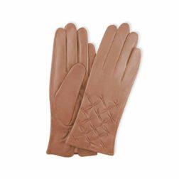 دستکش چرم زنانه مارال چرم مدل بالا ستاره ای