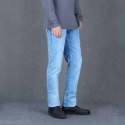 شلوار جین مردانه یزدباف کد ۰۱۲۱۲۱