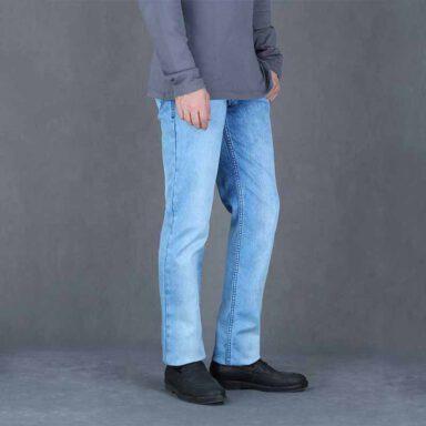شلوار جین مردانه یزدباف کد ۰۱۲۱۲۱ 1 رادک