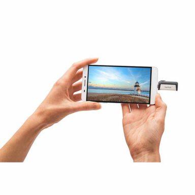 فلش مموری سن دیسک مدل Ultra Dual Drive 3.1 Type C ظرفیت ۱۶ گیگابایت 5 رادک