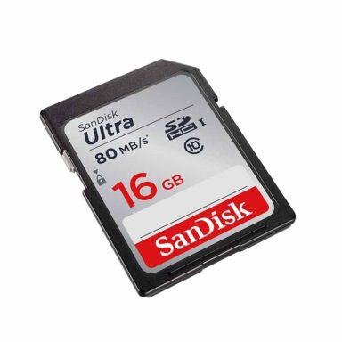 کارت حافظه SDHC سن دیسک Ultra 16GB Class 10 2 رادک