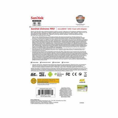 کارت حافظه microSDHC سن دیسک Extreme PRO 32GB Class 10 5 رادک