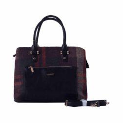 کیف دستی زنانه دیوید جونز David Jones مدل 2-5246 رنگ مشکی 1 رادک