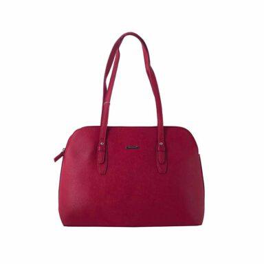 کیف دستی زنانه دیوید جونز David Jones مدل 3-5565 رنگ قرمز 1 رادک