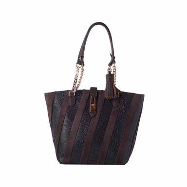کیف دستی زنانه دیوید جونز david jones مدل 3-5292 رنگ قهوه ای 1 رادک