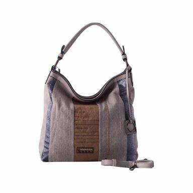 کیف دستی زنانه دیوید جونز david jones مدل CM3454 رنگ بژ 1 رادک
