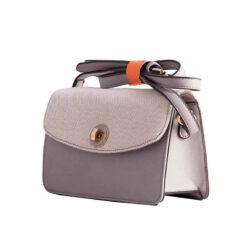 کیف رودوشی  دیوید جونز DAVID JONES مدل ۱-۵۰۲۴ رنگ خاکستری
