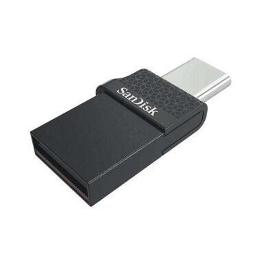 فلش مموری سن دیسک مدل Dual Drive USB Type C ظرفیت 128 گیگابایت 2 رادک