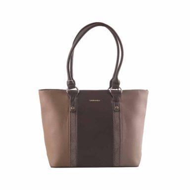 کیف دستی زنانه دیوید جونز David Jones مدل 2-5625 رنگ قهوه ای 1 رادک