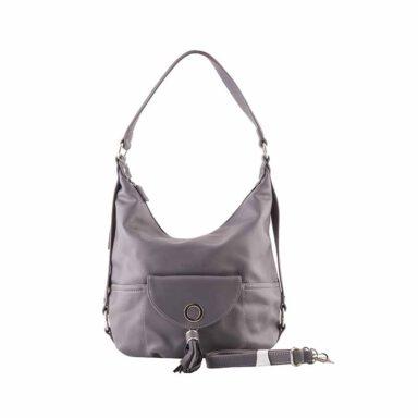 کیف دستی زنانه دیوید جونز David Jones مدل 3-5637 رنگ خاکستری 1 رادک