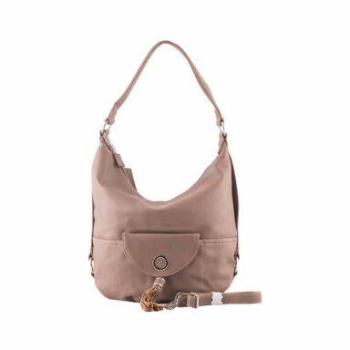 کیف دستی زنانه دیوید جونز David Jones مدل 3-5637 رنگ خاکی 1 رادک