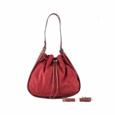 کیف دستی زنانه دیوید جونز David Jones مدل 3285 رنگ قرمز 1 رادک