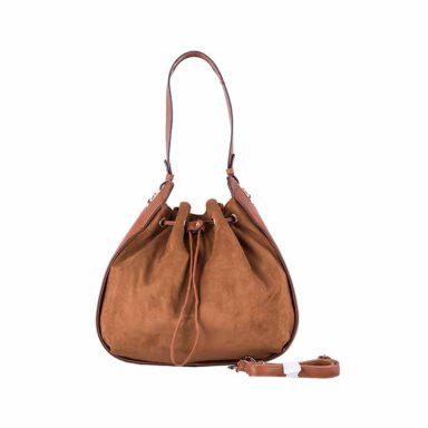 کیف دستی زنانه دیوید جونز David Jones مدل 3285 رنگ قهوه ای 1 رادک