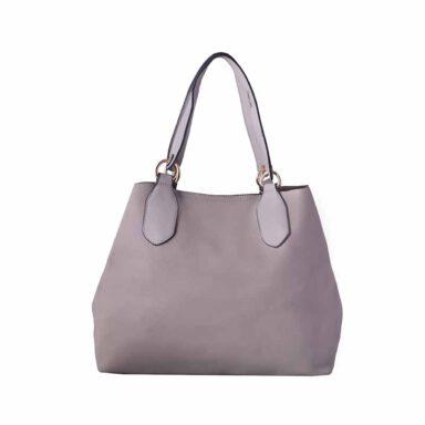 کیف دستی زنانه دیوید جونز David Jones مدل 3403 رنگ کرم خاکستری 1 رادک