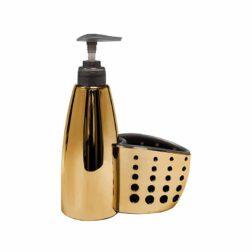 پمپ مایع ظرفشویی یزدگل مدل۵۳۰۱ رنگ طلایی