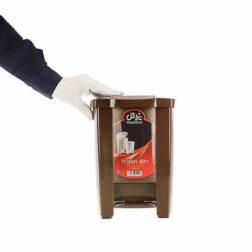 سطل زباله (کوچک) یزدگل مدل ۵۱۱ -گنجایش ۵ لیتر