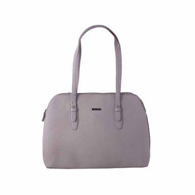 کیف دستی زنانه دیوید جونز David Jones مدل 3-5565 رنگ خاکستری 1 رادک