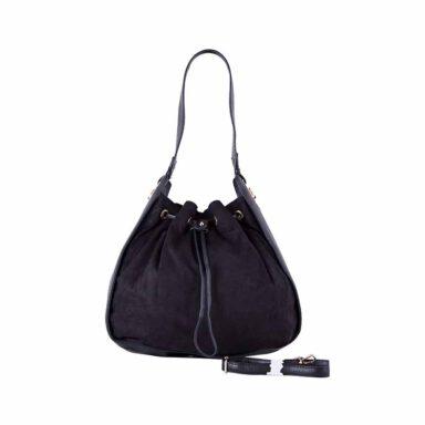 کیف دستی زنانه دیوید جونز David Jones مدل 3285 رنگ مشکی 1 رادک