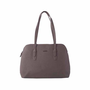 کیف دستی زنانه دیوید جونز David Jones مدل 3-5565 رنگ شتری 1 رادک