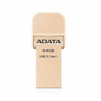 فلش مموری ADATA مدل AI920 ظرفیت ۶۴ گیگابایت(OTG) 1 رادک