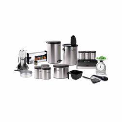 سرویس آشپزخانه ۲۹ پارچه سام ست مدل ارکیده