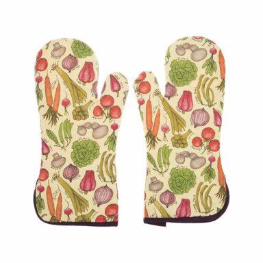 دستکش فر رزین تاژ طرح سبزیجات 9 رادک
