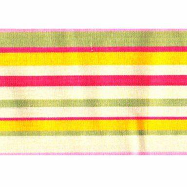 دستمال سفره کتان رزين تاژ طرح اسپرید صورتی (Pink Sprid) 1 رادک
